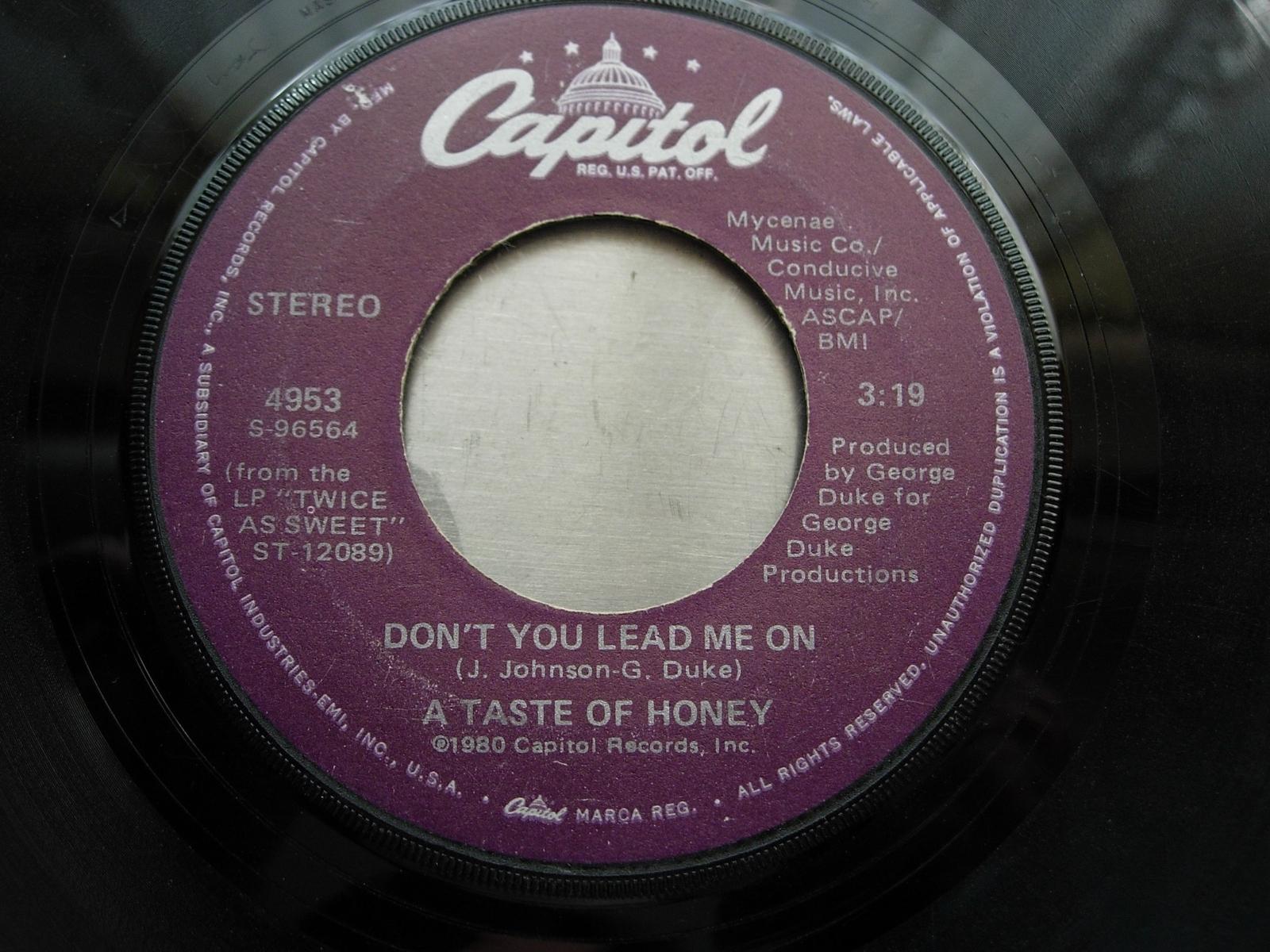A Taste of Honey - Sukiyaki / Don't You Lead Me On - Dot Records 4953
