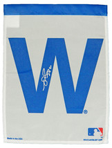 MATT SZCZUR Signed Chicago Cubs 11x15 White 'W' Flag - SCHWARTZ - $59.03