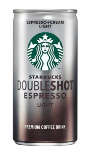Starbucks Doubleshot Light, Espresso & Cream 6.5 oz x 24 Cans for sale  USA