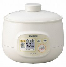 Zojirushi microcomputer porridge maker cup 5 cups of EG-DA02-WB White - $101.03