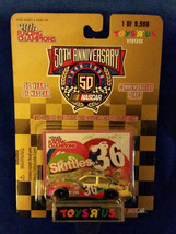 1998 Racing Champions 1:64 Scale Toys R Us Gold 1/9998 #36 Skittles - $7.55