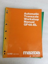 1993 Mazda GF4A-EL Automatic Transaxle Service Repair Manual OEM Factory... - $2.82
