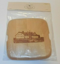 Longaberger Crawford Barn Lid Only For Large Berry With Handle Basket Ne... - $27.71
