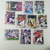 2020 Topps Baseball Cards Base Lot of 11 See Full List Below - $14.99