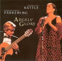 Primary image for KATHLEEN BATTLE - Angels' Glory - Christmas Music for Voice & Guitar CD