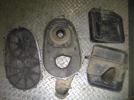 Suzuki 2002 Eiger 400 4X4 Belt Cover And The Lower Induction Box (Has One Broke - $75.00