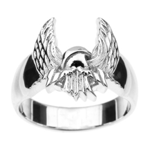 Men's Sterling Silver American Eagle Ring - $98.99