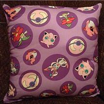 Pokemon Pillow, Jiggly Puff, Fairy Pillow, Anime, Manga, Video Game,  Po... - $9.99