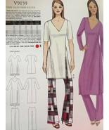Vogue Sewing Pattern Very Easy Vogue 9159 Misses Tunic Pants Size XS-M New - $18.38