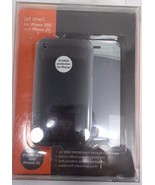 QDOS QD-73321-C Jet Shell Clear Case and Screen Protectors for iPhone 3G/GS - $9.89