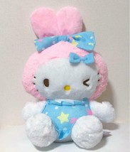 Hello Kitty Bunny Plush Doll Usamimi Sanrio Not For Sale Kawaii NEW 40cm - $41.79