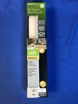 GE Under Cabinet Lighting 12 in. LED Slim Line Dimming, Linkable, PLUG IN - $29.69