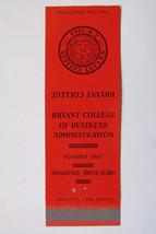 Bryant College - Providence, Rhode Island 20 Strike Matchbook Cover Matc... - $1.75