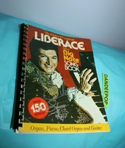 Liberace Big Note Song Book 1977 Signed Autographed - $98.99