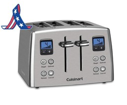 Cuisinart Cpt-435 Countdown 4-Slice Stainless Steel Toaster - €61,29 EUR+