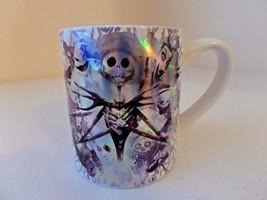 NEW Nightmare Before Christmas Jack Skellington Metallic Silver White 14... - £16.73 GBP