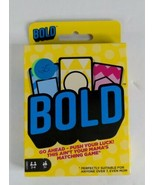 Mattel Games Bold - Go Ahead Push Your Luck 2-4 players (Matching Game) - $7.99