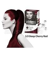 KOLORA Permanent 3.9 Colour Cream Hair Dye Deep Cherry Red with Keratin - $12.76