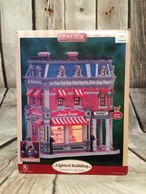 Lemax Victorian Longs Drugs Christmas Lighted Building 2007 Never Used - $74.25