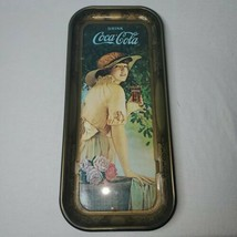 Coca Cola Tray Elaine Antique Girl With Flower Basket WW1 advertisment 1972 - $10.30