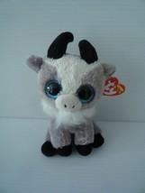 "TY Beanie Boos 6"" GABBY the Goat Plush Stuffed Animal Toy MWMTs Ty Heart Tags - $13.86"