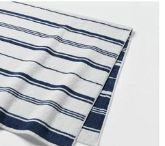 "Threshold Performance Bath Towel 30"" X 54 "".XAVIER NAVY Towel -New image 2"