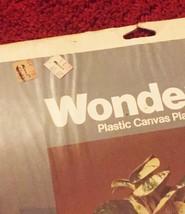 Vintage 70s WonderArt Plastic Canvas Planter Kit #6004 - by Needlecraft image 4