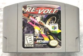 ☆ Re Volt (Nintendo 64 1999) N64 AUTHENTIC Game Cart Tested Works ☆ - $13.26
