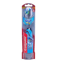 Colgate Total 360 Advanced Floss Tip Battery Toothbrush Soft - Blue - $13.54