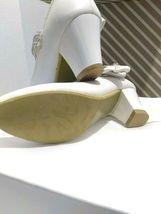 AISLE STYLE Girls Low Mid Heel Party Wedding Mary Jane Style Shoes Size 28 UK image 6