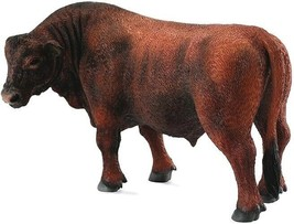 CollectA Red Angus bull  cow  88508  beautiful  well made <> - $9.65