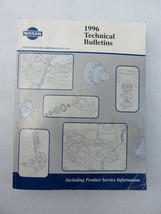 1996 Nissan Technical Bulletins Shop Service Repair Manual OEM Factory D... - $6.42