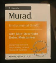 Murad city skin overnight detox moisturizer 1.7 Fl Oz NIB - $36.62