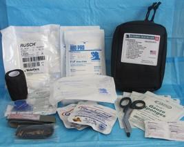 ELITE FIRST AID Gunshot Trauma Kit STOCKED First Responder Survival Prep... - $80.27
