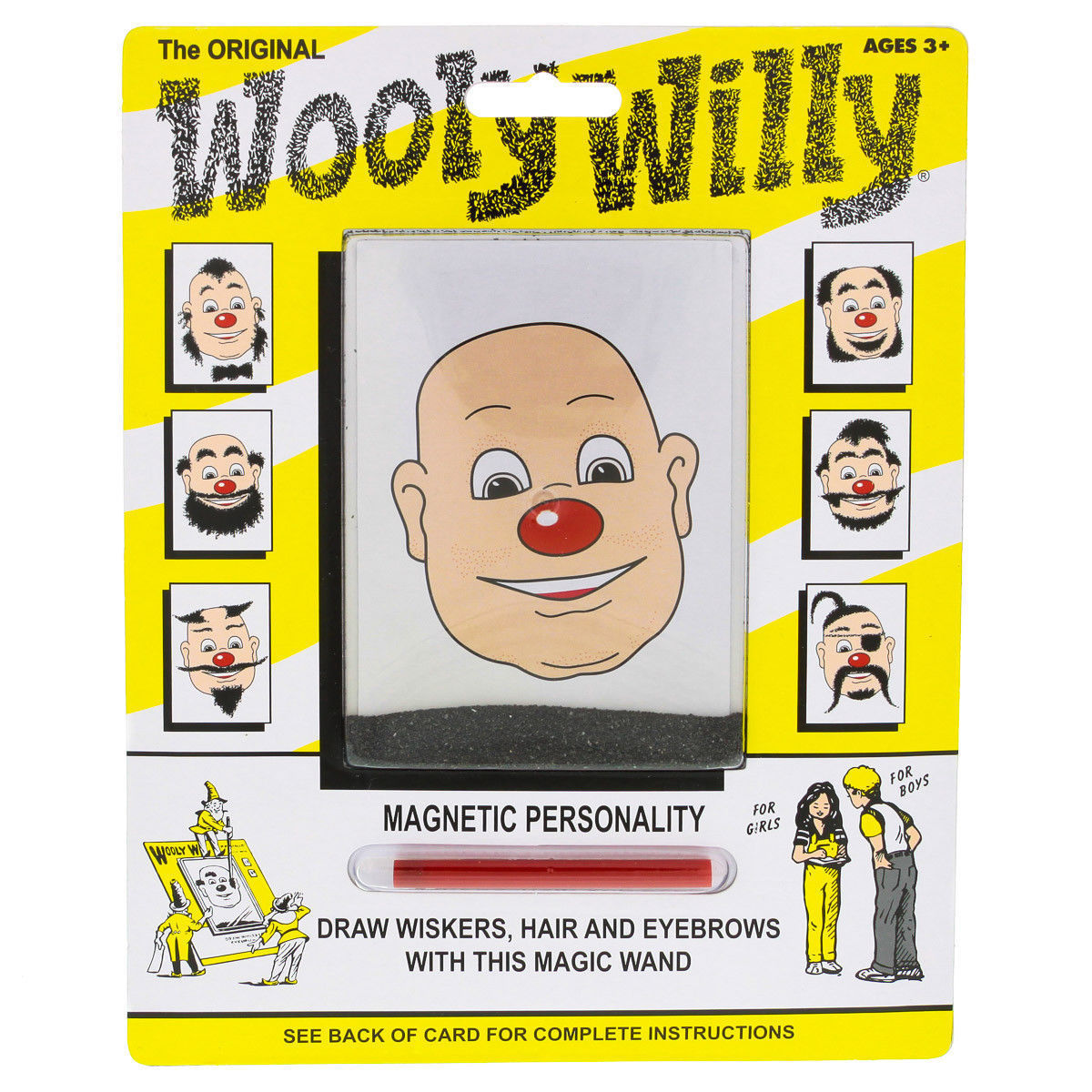 Wooly Willy Original Magnetic Drawing Toy Vintage Kids' Collectible