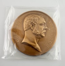 Chester A. Arthur Presidential Bronze Medal US Mint Department of the Treasury - $26.72