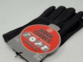 Zero Friction Compression Fit Sheepskin Work Gloves Black One Size  - $12.86