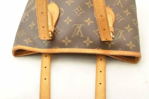 LOUIS VUITTON Monogram Bucket PM Shoulder Bag M42238 LV Auth 11122 **Sticky image 6