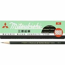 K9800H Mitsubishi Pencil office pencil 9800 H 12 pieces - $6.39