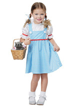 California Costumes Dorothy Wizard Of Oz Girls Toddler Halloween Costume... - $22.06