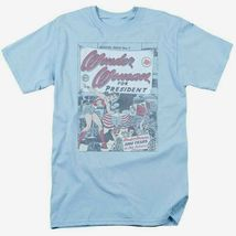 Wonder woman for president t shirt retro dc comic book superman superhero dco657 thumb200