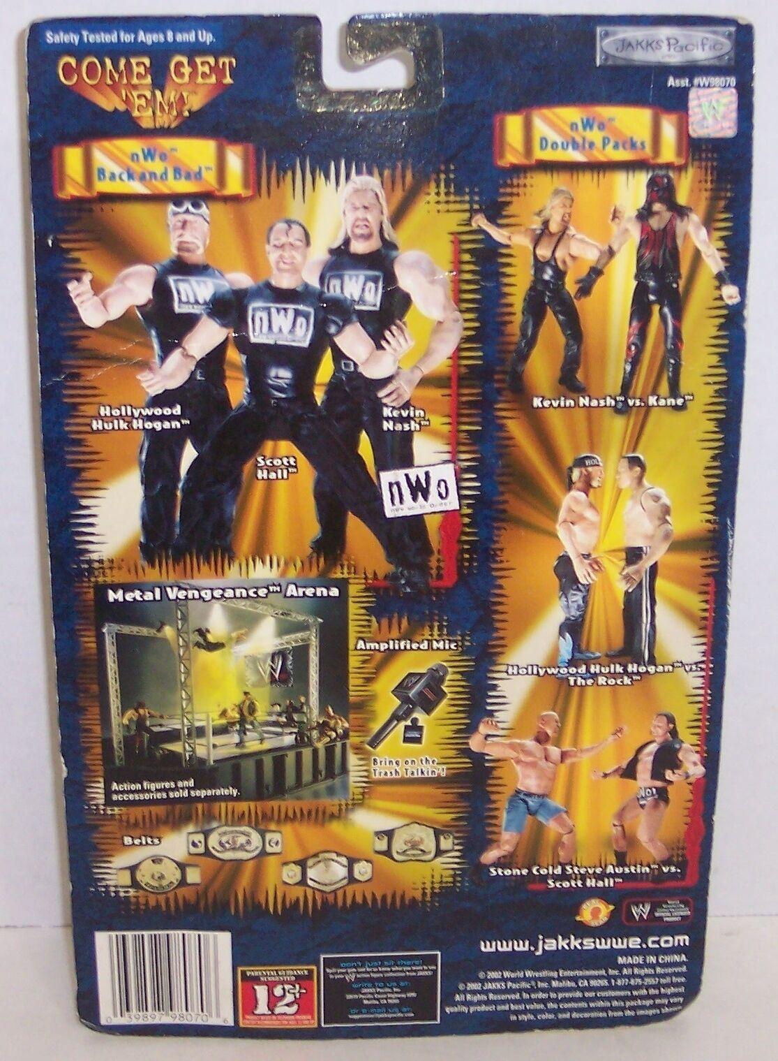 "New! 2002 Jakk's Pacific WrestleMania #18 ""Maven"" Action Figure WWE WWF [864]"