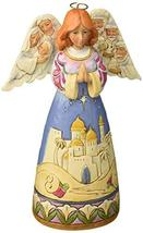 Enesco Jim Shore Heartwood Creek Angel w/Nativity Sculptedwings w, Multi... - $48.26