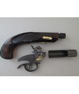 Vintage Avon Philadelphia Derringer Pistol Aftershave Decanter VTG! jch031 - $14.84