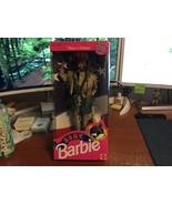 1992 Mattel Stars 'n Stripes African American Army Barbie Doll #5618 NIB - $16.95