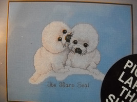 The Harp Seal Endangered Young'uns Counted Cross Stitch Kit by Janlynn 132-03 - $9.40