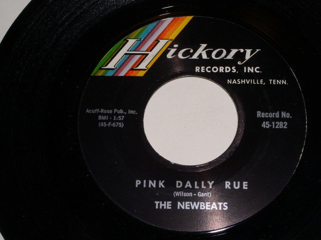 The Newbeats Pink Dally Rue Everything's Alright 45 Rpm Record Vintage Hickory