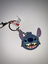 Disney Parks Stitch Mini Coin Purse Keychain with Lobster Claw(Clip or Ring) NEW - $15.88