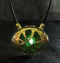 Doctor Strange Amulet Pendant Eye of Agamotto Glow in the Dark 7 cm x 5.... - $18.99