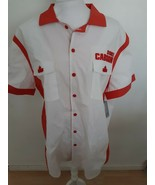 Disney Duke Caboom Button Up Shirt Toy Story 4 Red White Action Figure S... - $49.26